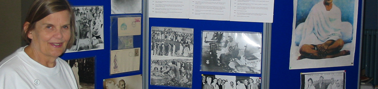 Pic showing the exhibition stands