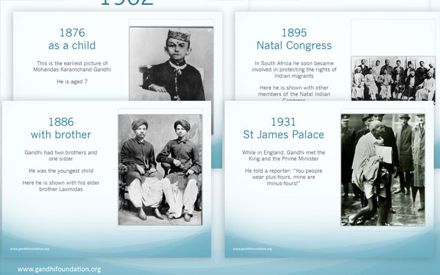 Pic showing some of the education slides